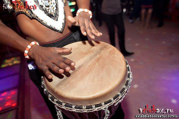 африканское барабан шоу